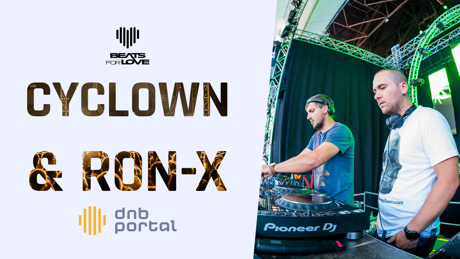 Cyclown & Ron-X - Beats for Love 2019