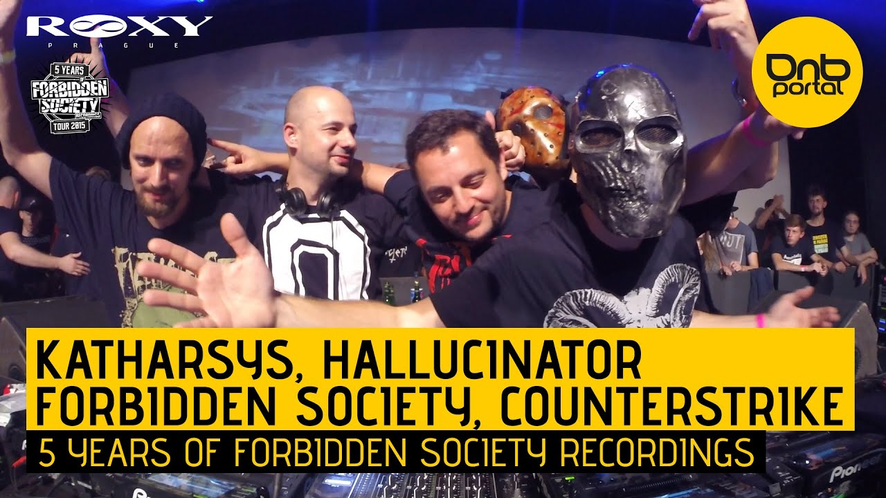 Katharsys, Hallucinator, Forbidden Society & Counterstrike - 5 Years FS Recordings
